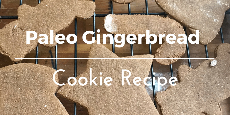 Allergy Friendly, Egg-Free Paleo Gingerbread Cookie Recipe